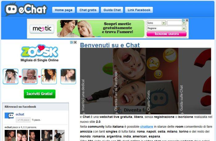 Chat di incontro senza registrazione yahoo
